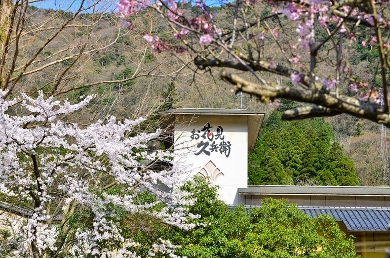 石川県  山中温泉 『お花見久兵衛』
