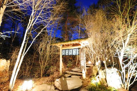 長野県/蓼科温泉 「たてしな藍」