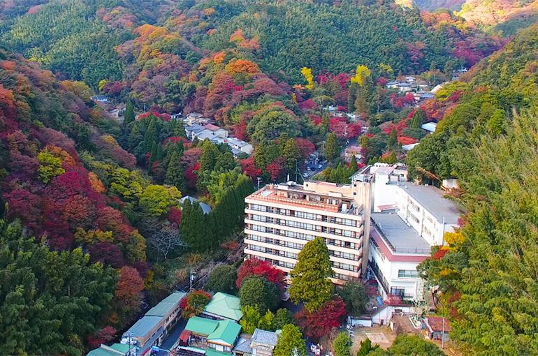 神奈川県  奥湯河原温泉 『山翠楼』